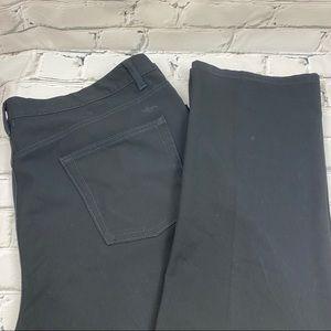 Dockers Regular fit men's black pants